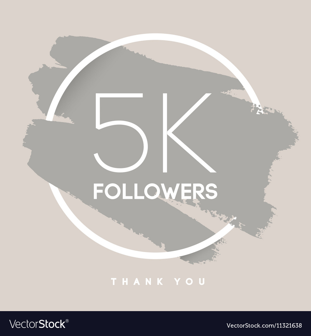thanks design template for network friends vector image