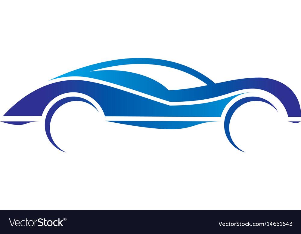 Car abstract automotive concept logo image