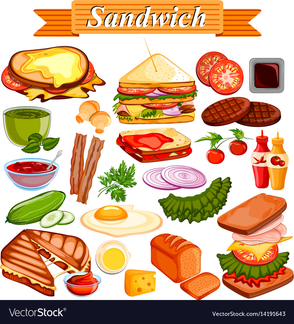 Food and spice ingredient for sandwich