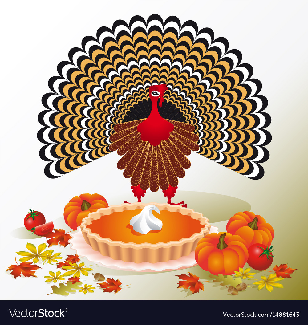 Thanksgiving day design for the decoration