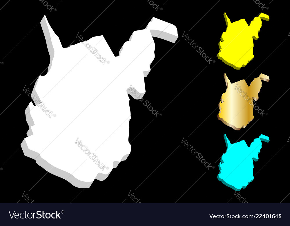 3d map of west virginia