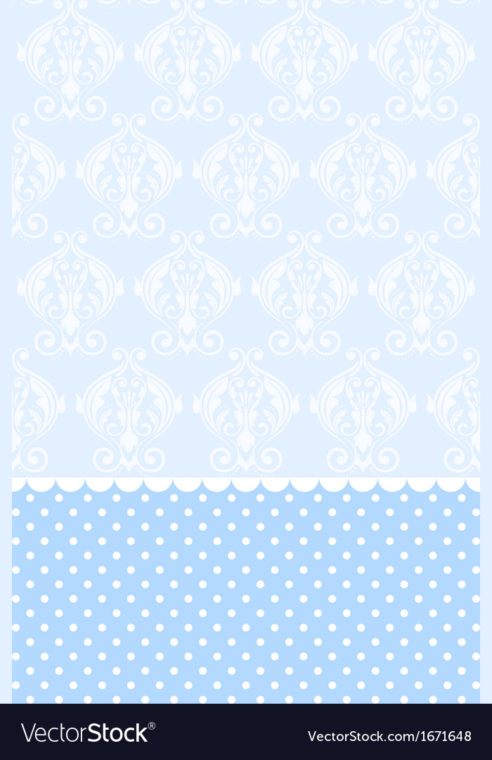 Baby blue wallpaper vector image