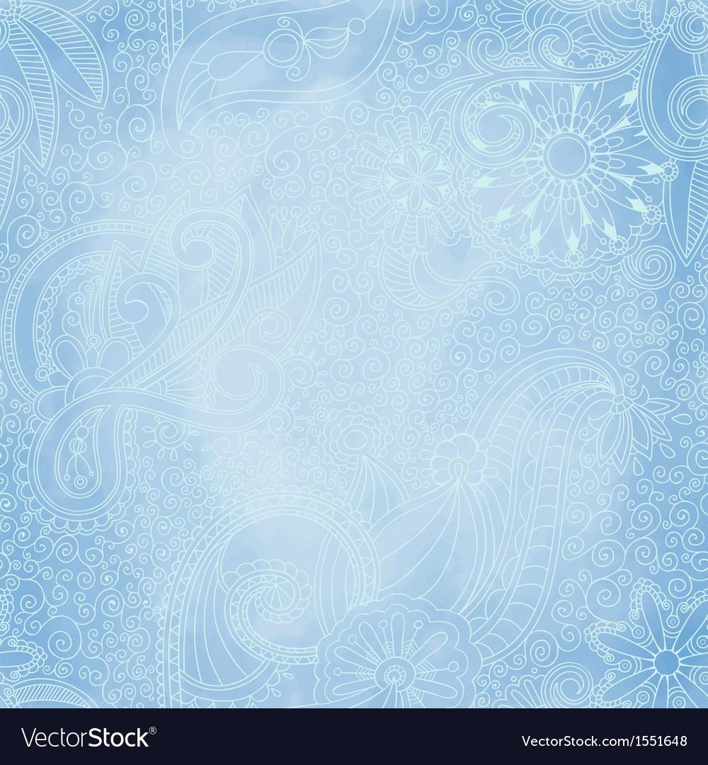 Beautiful seamless vintage pattern
