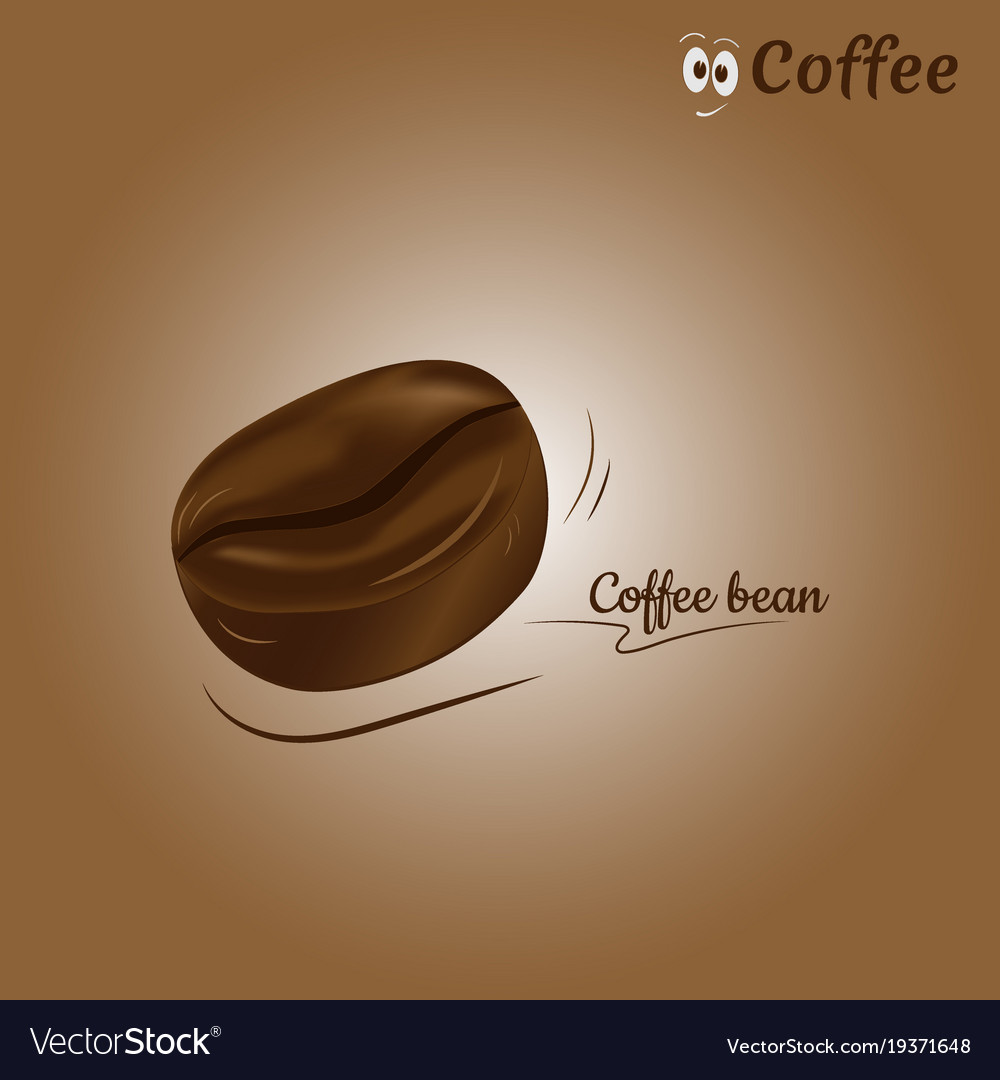 Coffee bean icon design