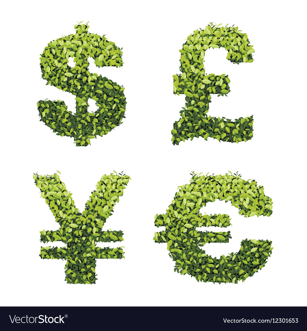 Dollar euro pound and yen currency