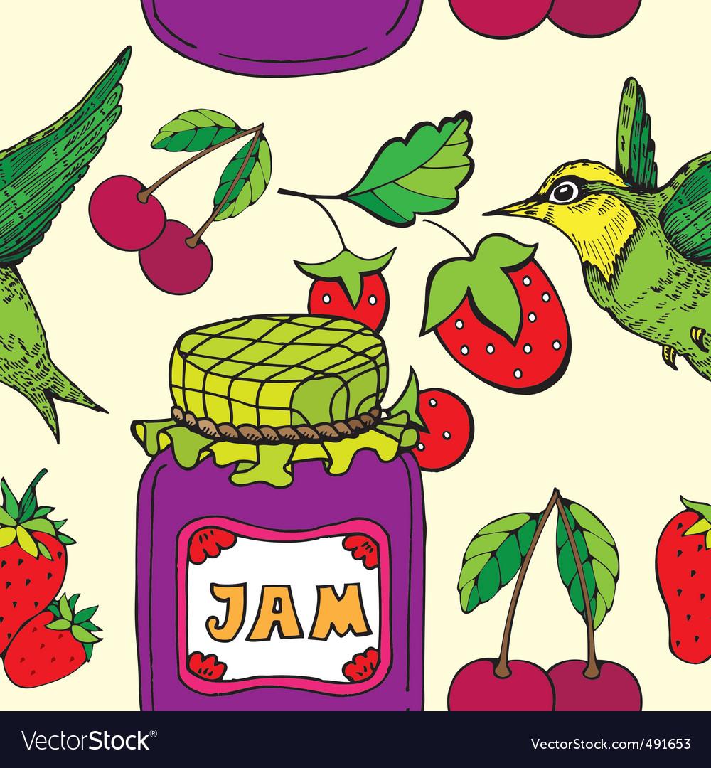 Jam jar print