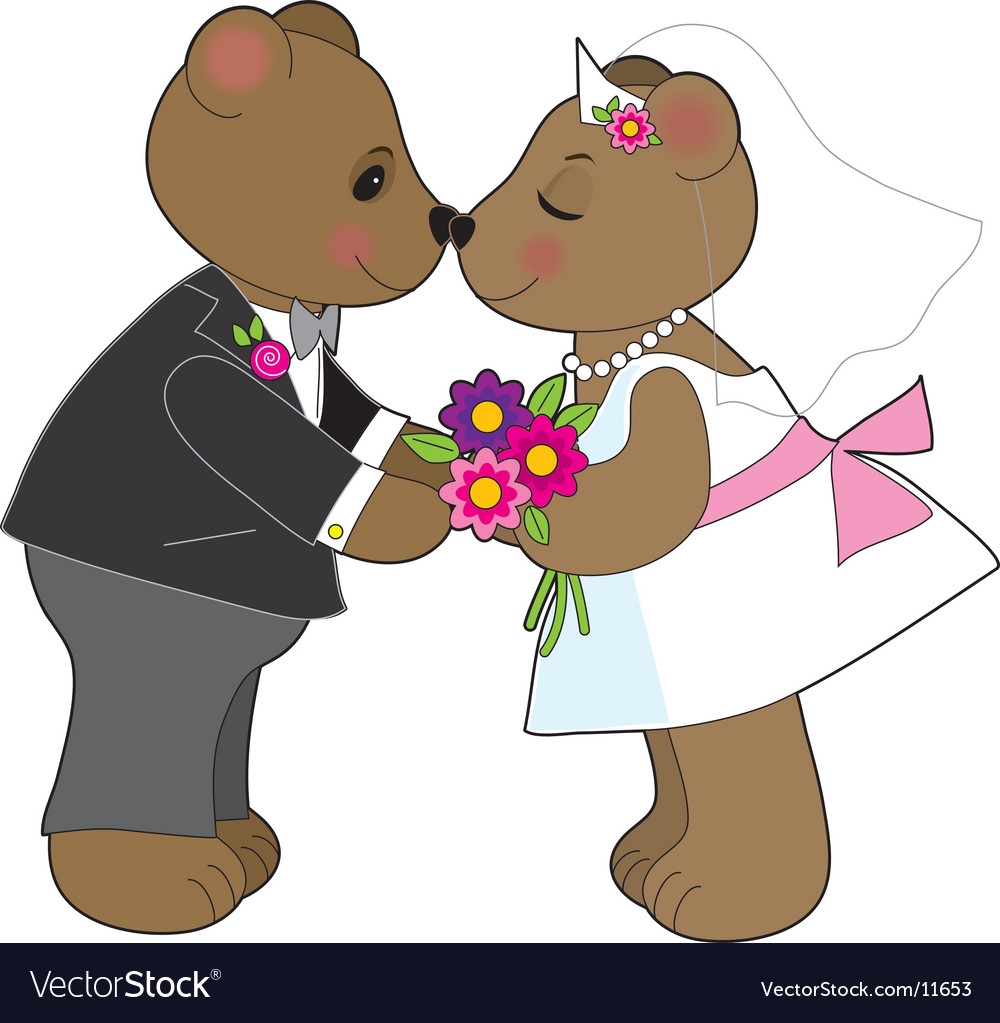 Teddy wedding