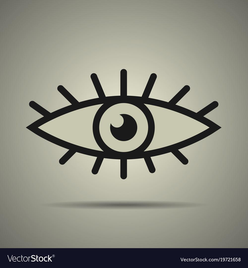 Eye icon black and white
