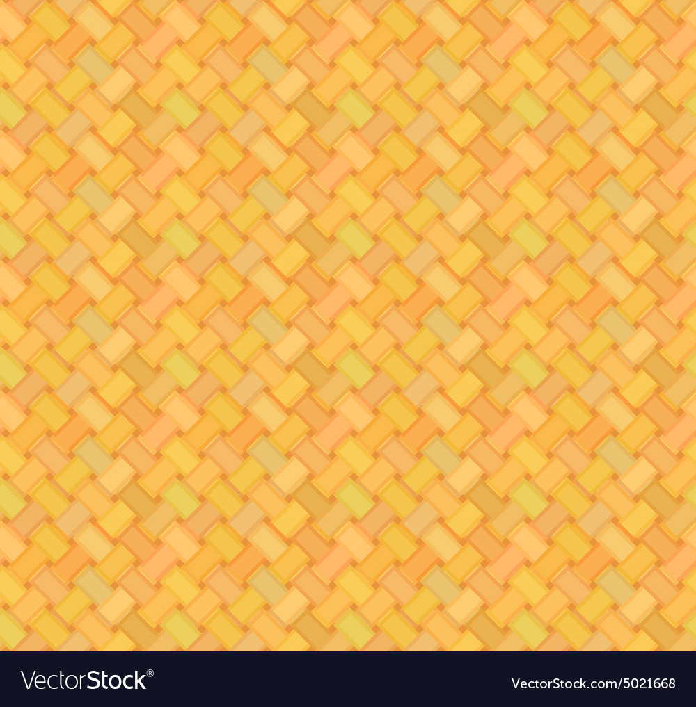 Straw mat seamless pattern vector image