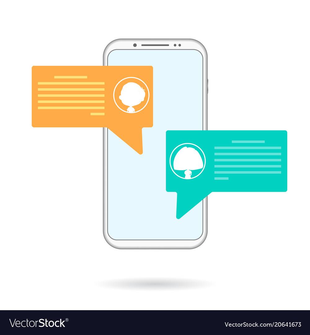 Mobile chating
