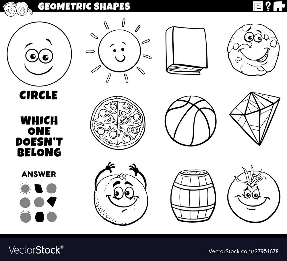 Coloring pages of lots and lots of shapes | Decoração de quarto ... | 911x1000