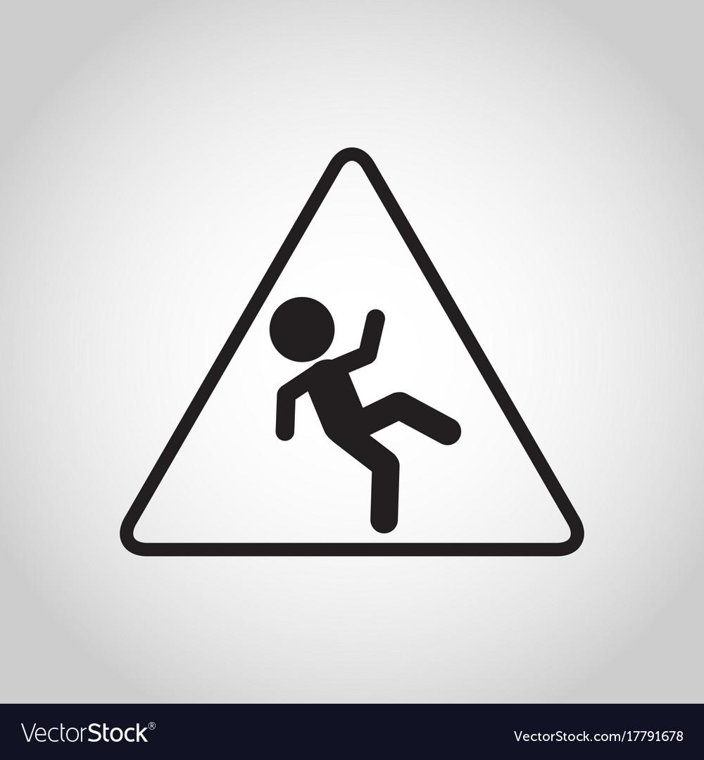 Falls prevention logo icon