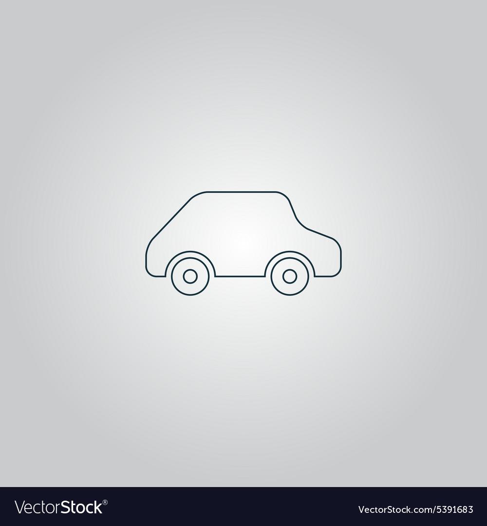 Toy Car logo template icon