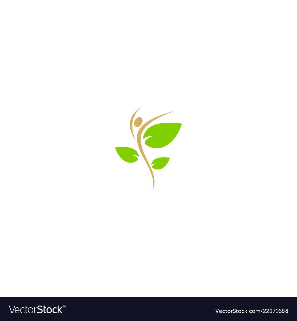 Eco beauty health nature logo
