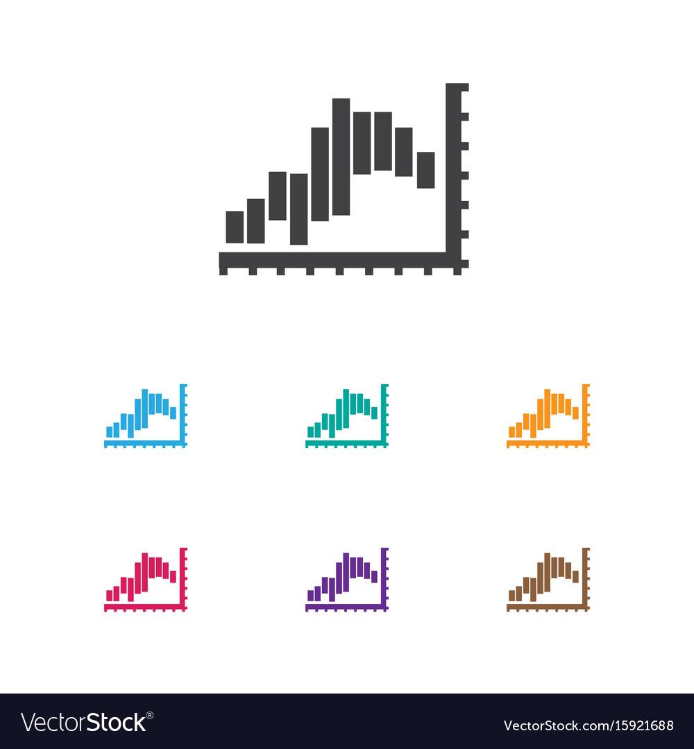 Of statistic symbol on report