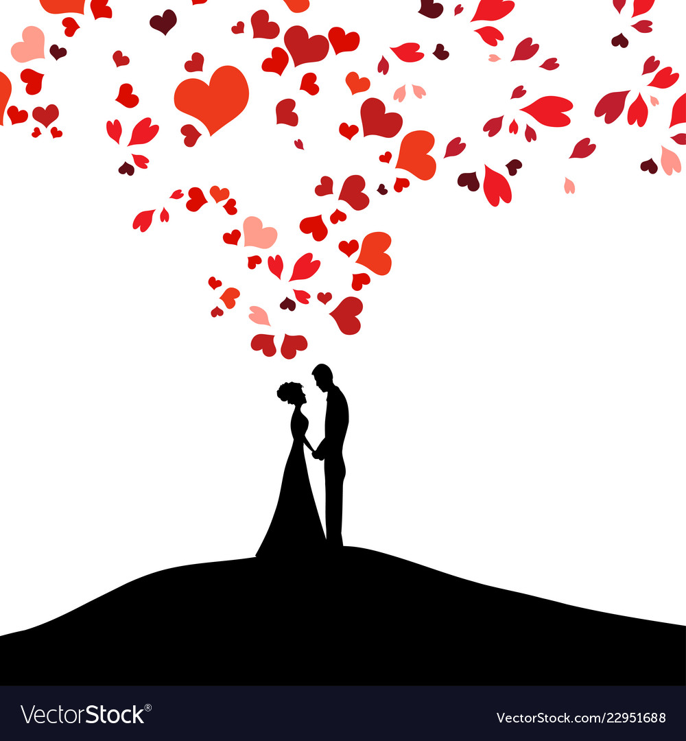 Wedding Design Over White Background Royalty Free Vector