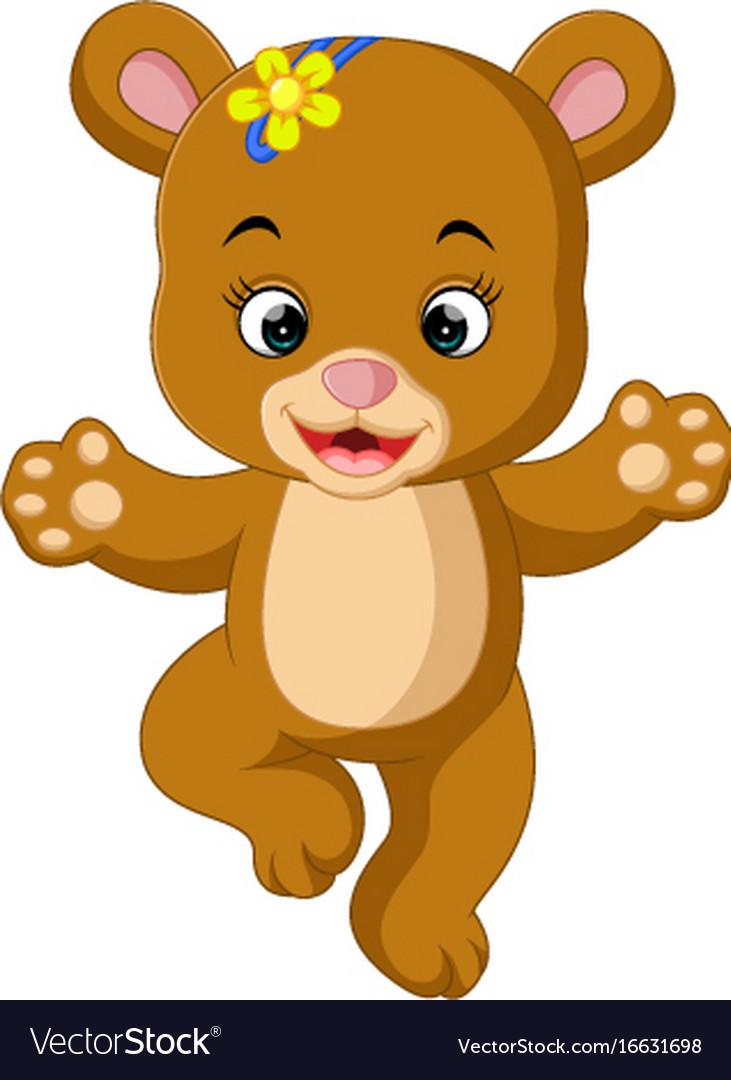 Baby Bear Cartoon