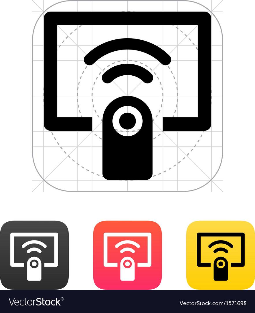 remote control icon royalty free vector image vectorstock