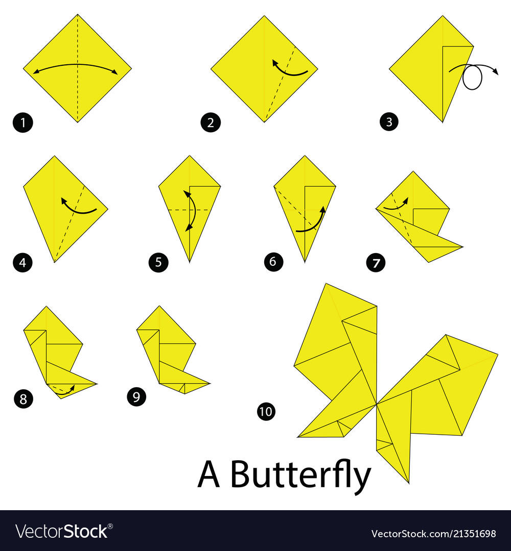 Lovely Easy origami Crane Instructions for Kids | Origami swan ... | 1080x1000
