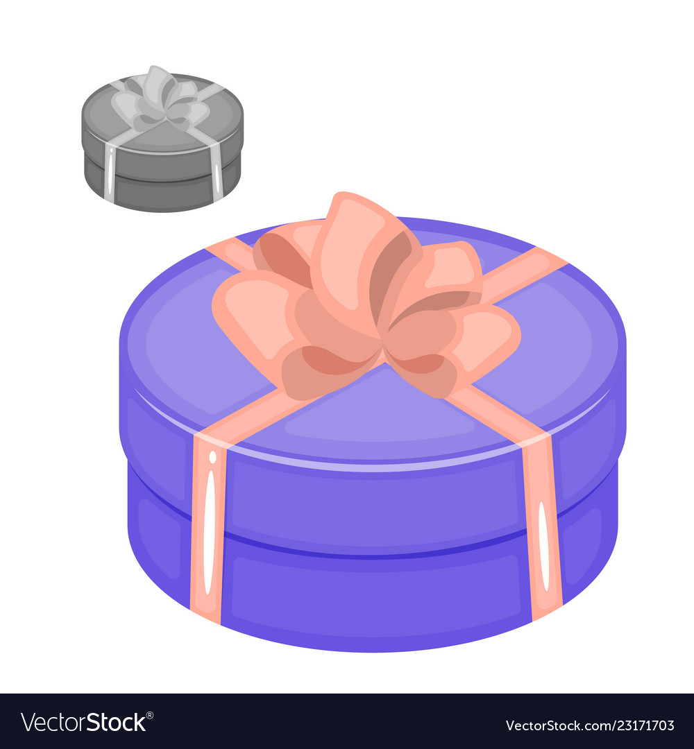 Set of icons of gift boxes gift box icon