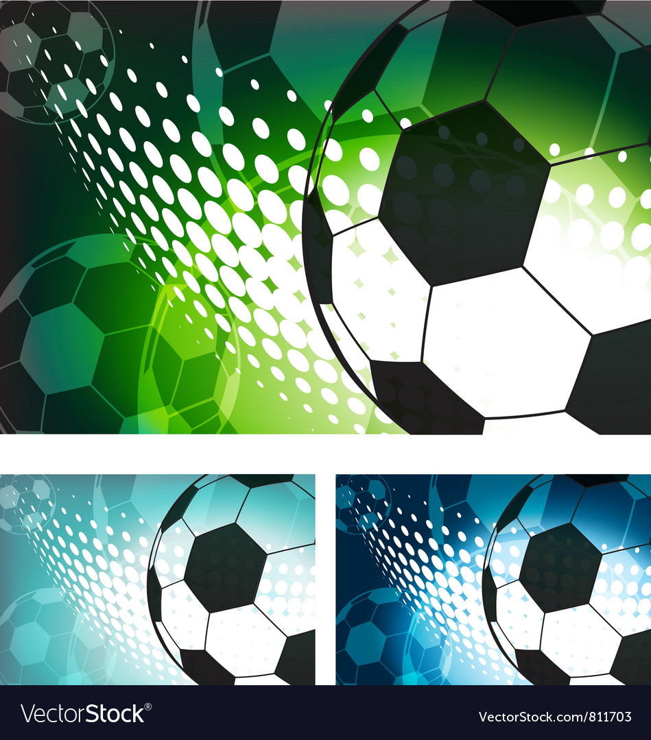Soccer Ball Background