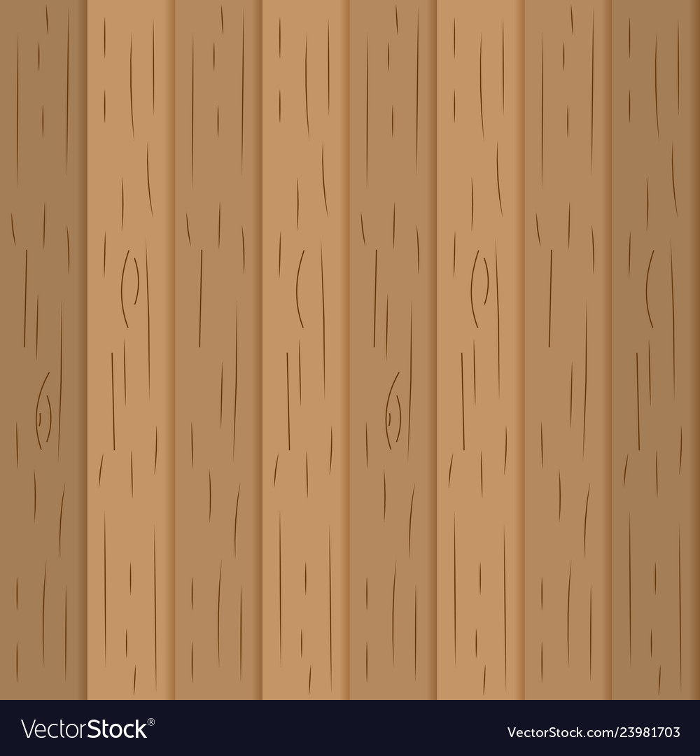 Wooden Floor Pattern Cartoon Royalty Free Vector Image