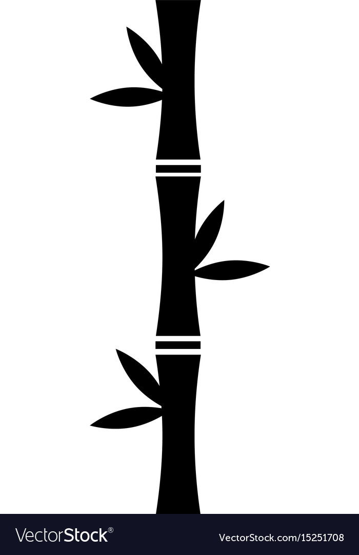 Bamboo stem natural icon
