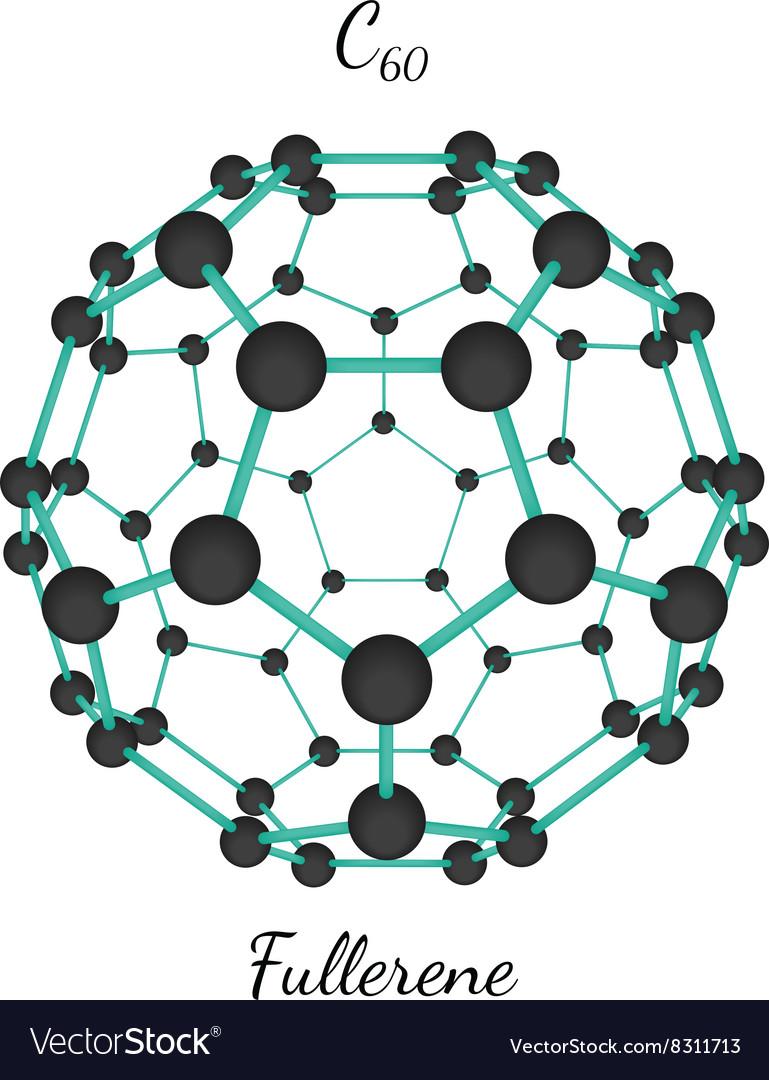 C60 fullerene molecule