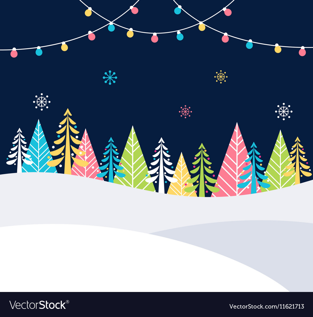 Christmas and Winter Holidays Events Festive
