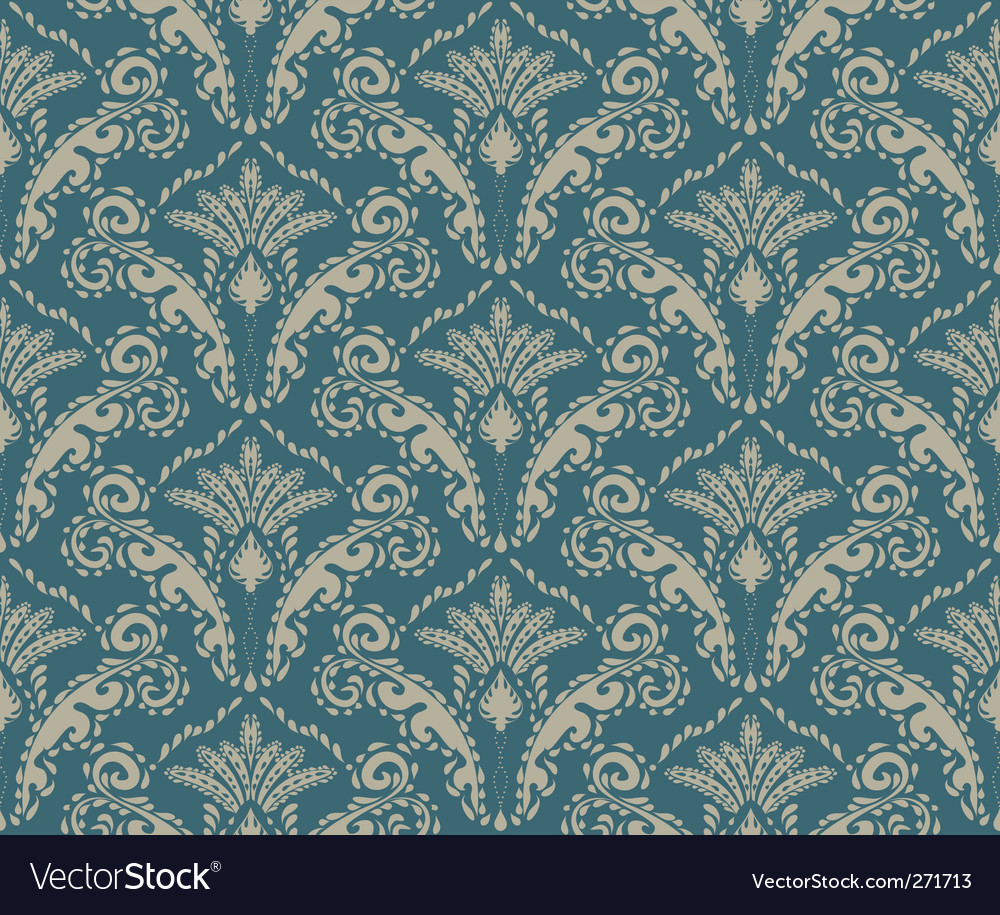 Wallpaper Pattern Royalty Free Vector Image