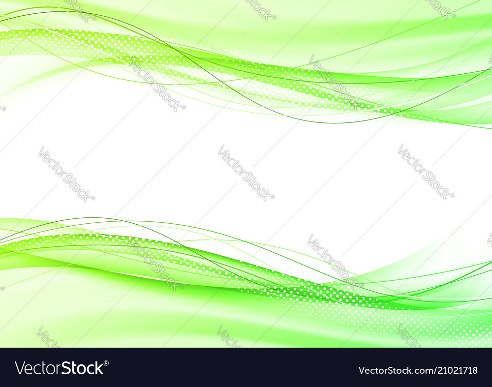 Abstract bright modern green elegant graphic