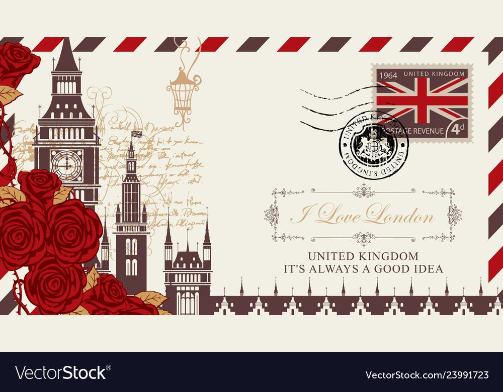 почтовая открытка англия подносы, ложки вилки