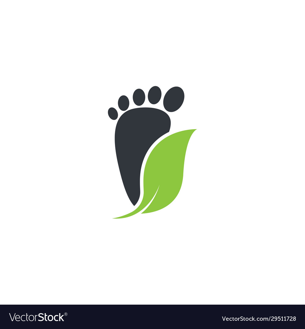Foot therapist logo icon