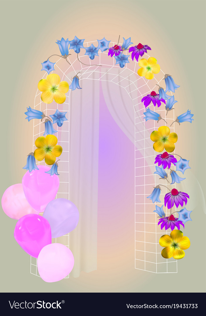 Festive arch