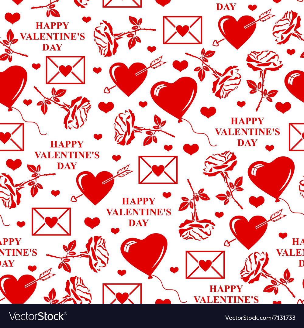 Valentines seamless