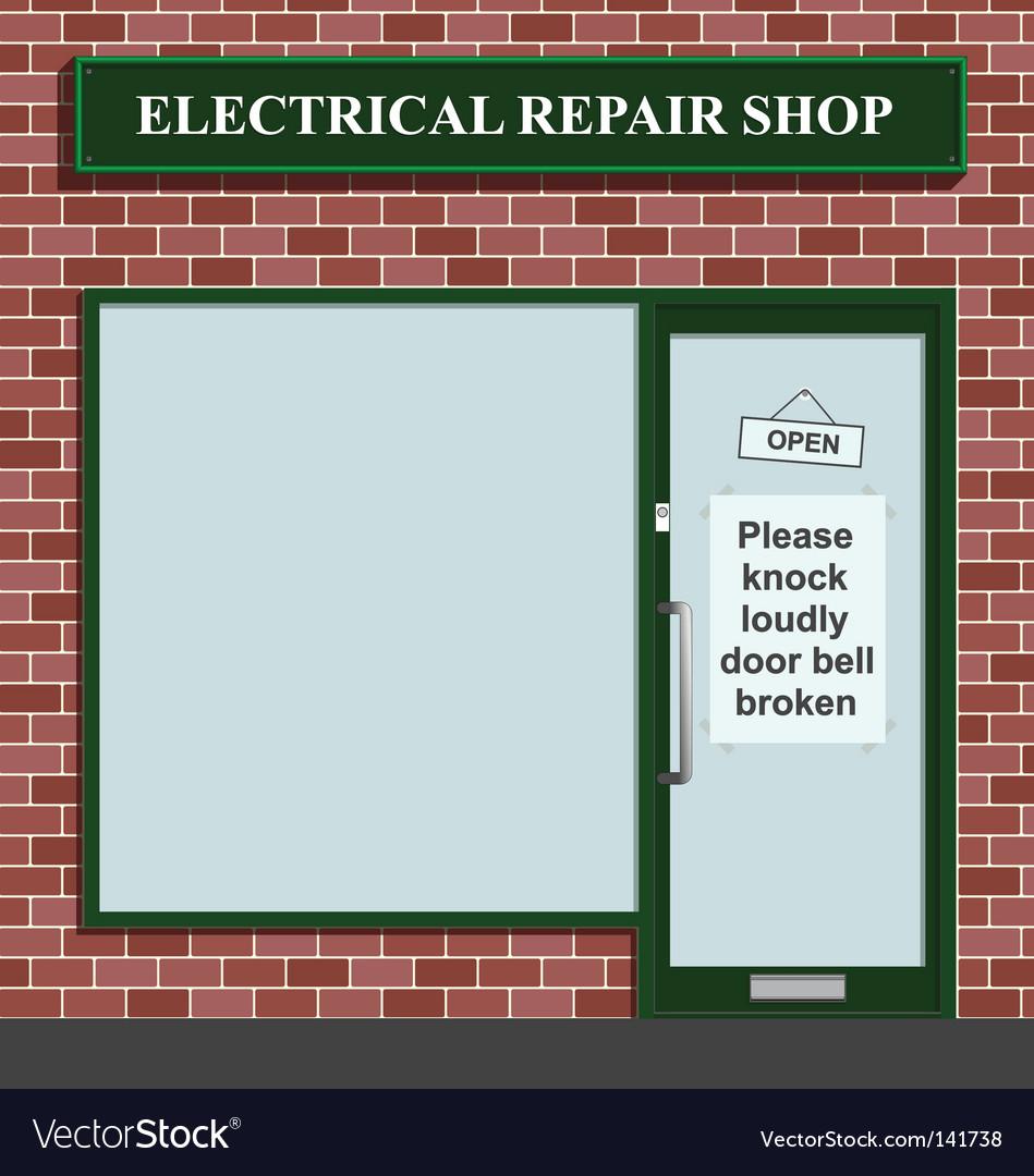 Electrical repair shop
