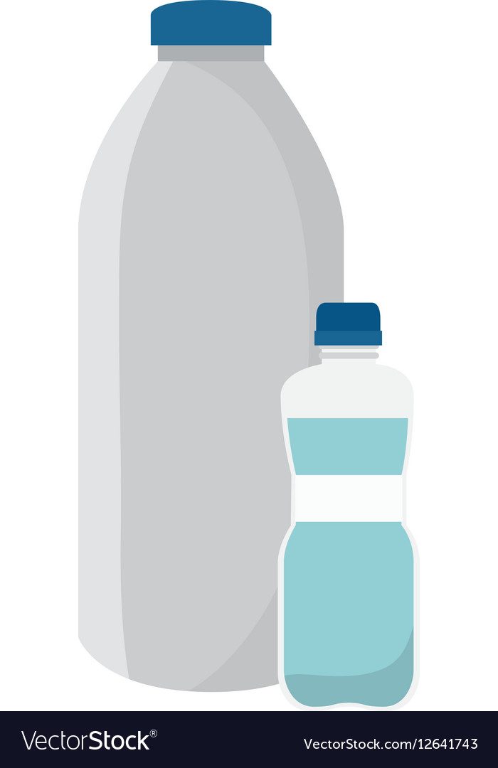 Milk bottle product icon