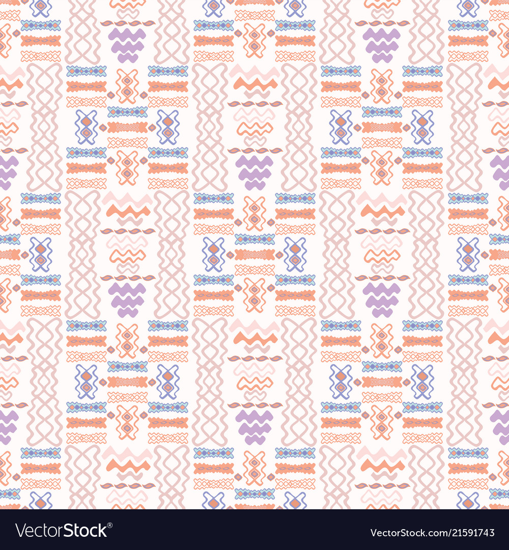 Pastel lilac and pink abstract geo wave shapes