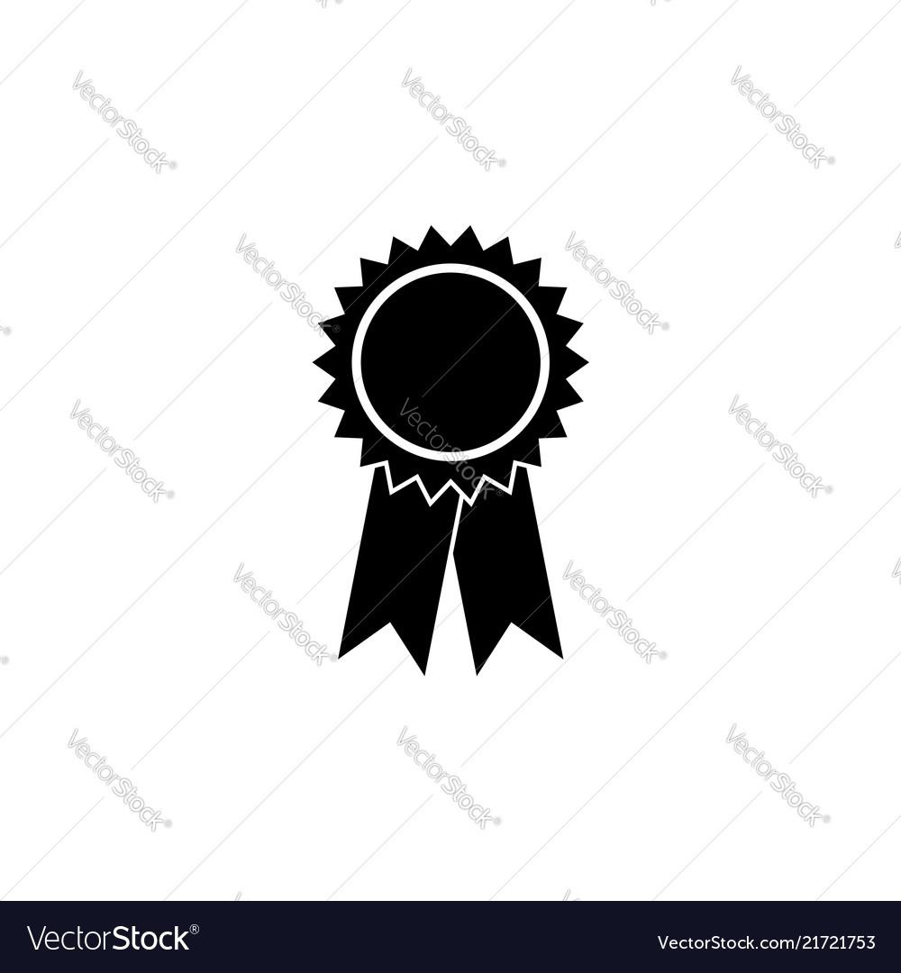 Award icon black on white