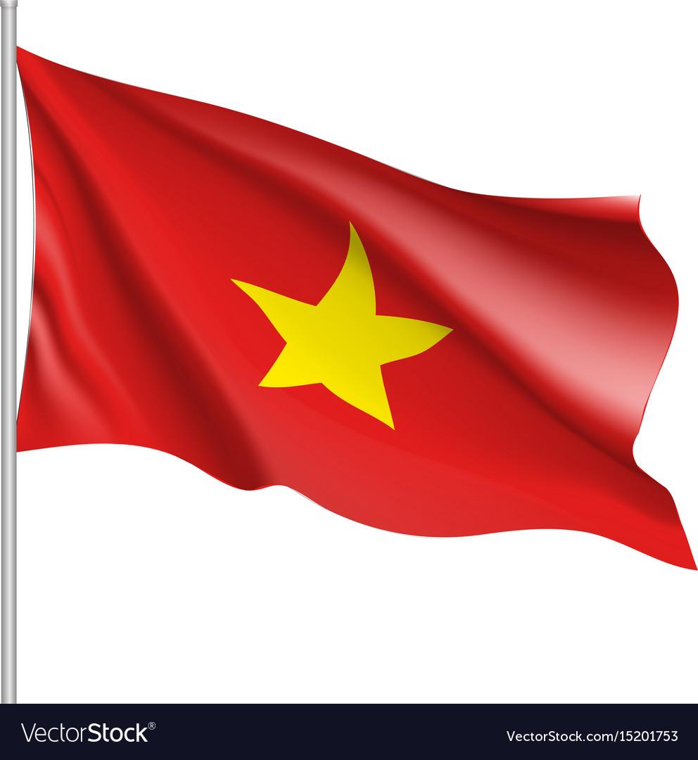 Flag Of Socialist Republic Of Vietnam Royalty Free Vector