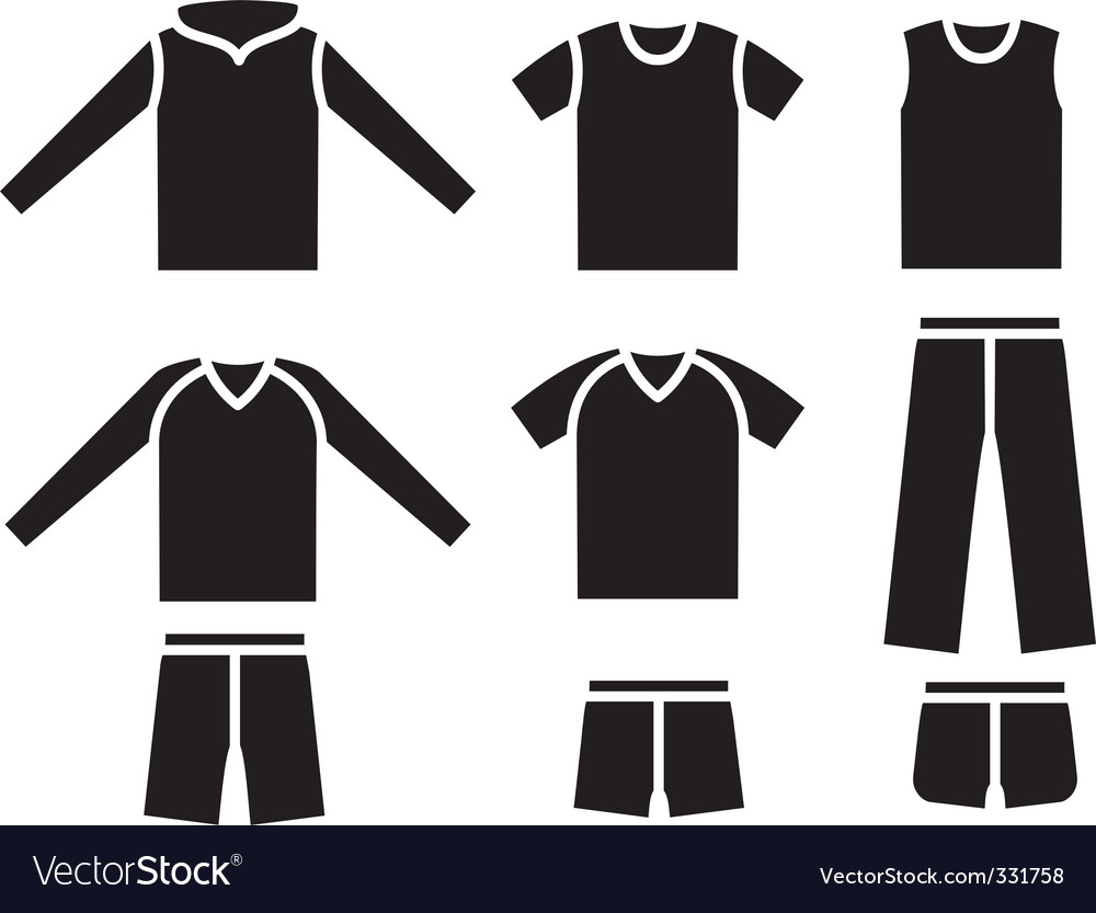 Set of the sports wear