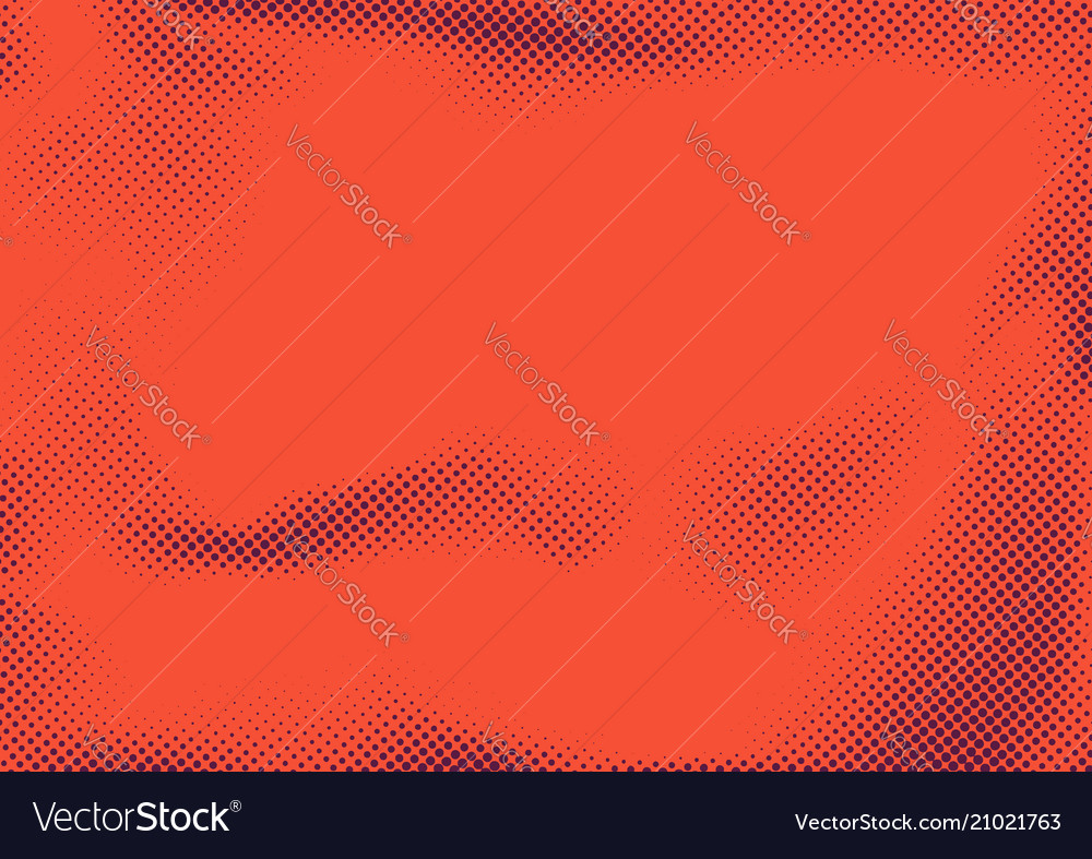 Bright red abstract retro graphic dotted texture