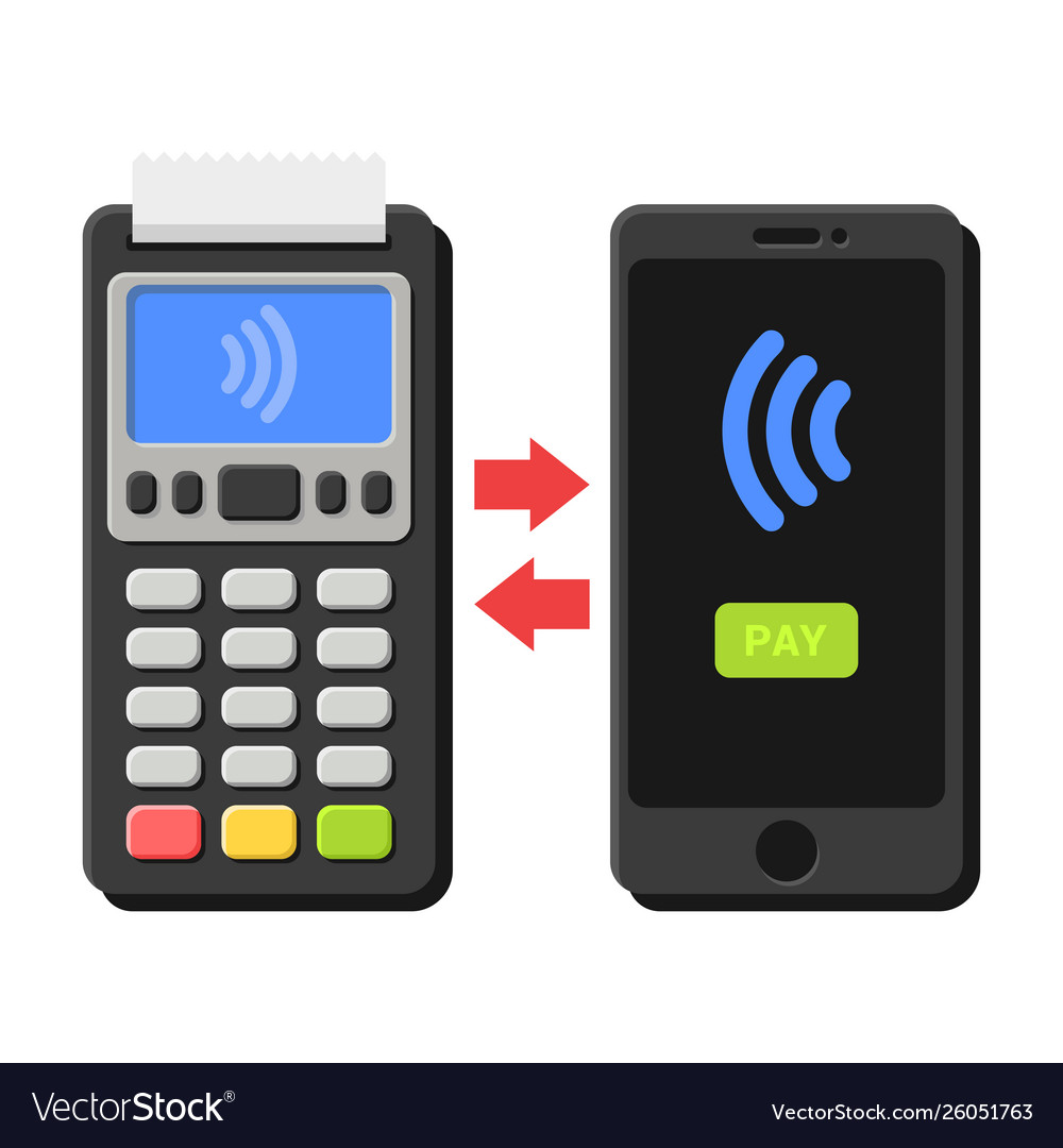 Terminal and smartphone payment operation