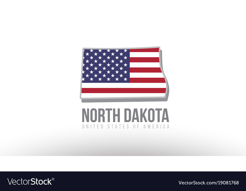 A county state with us united states flag