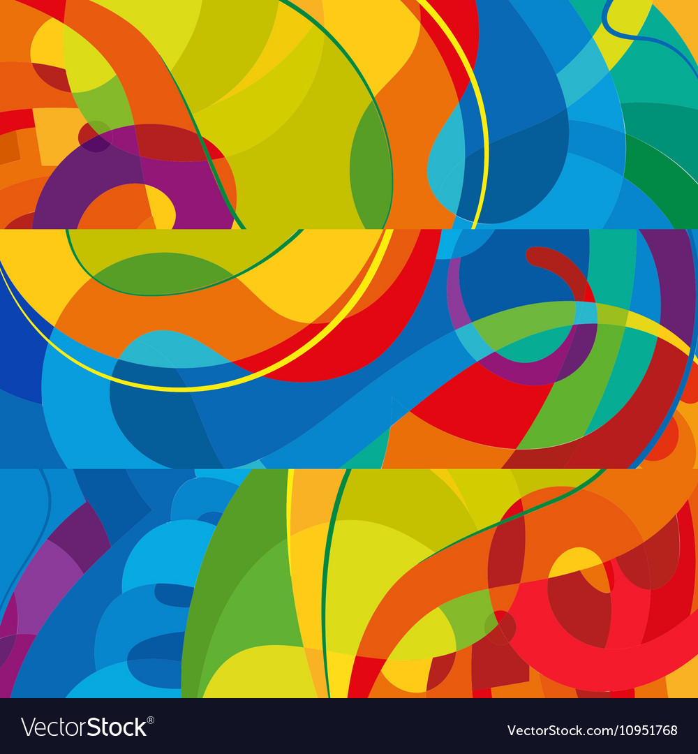 Abstract Colorful Background Modern Design
