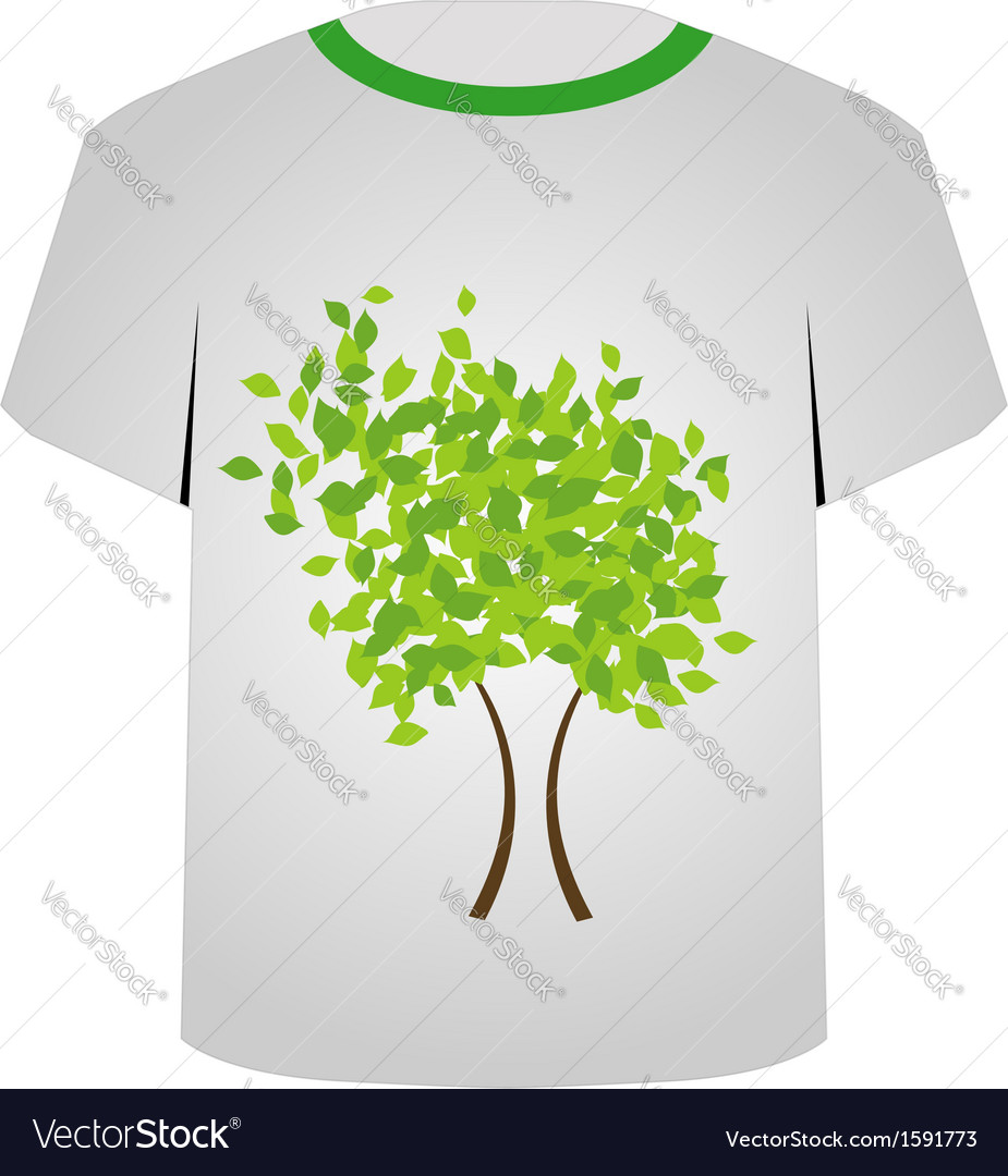 image relating to Printable T Shirt identify Printable tshirt picture- Spring tree