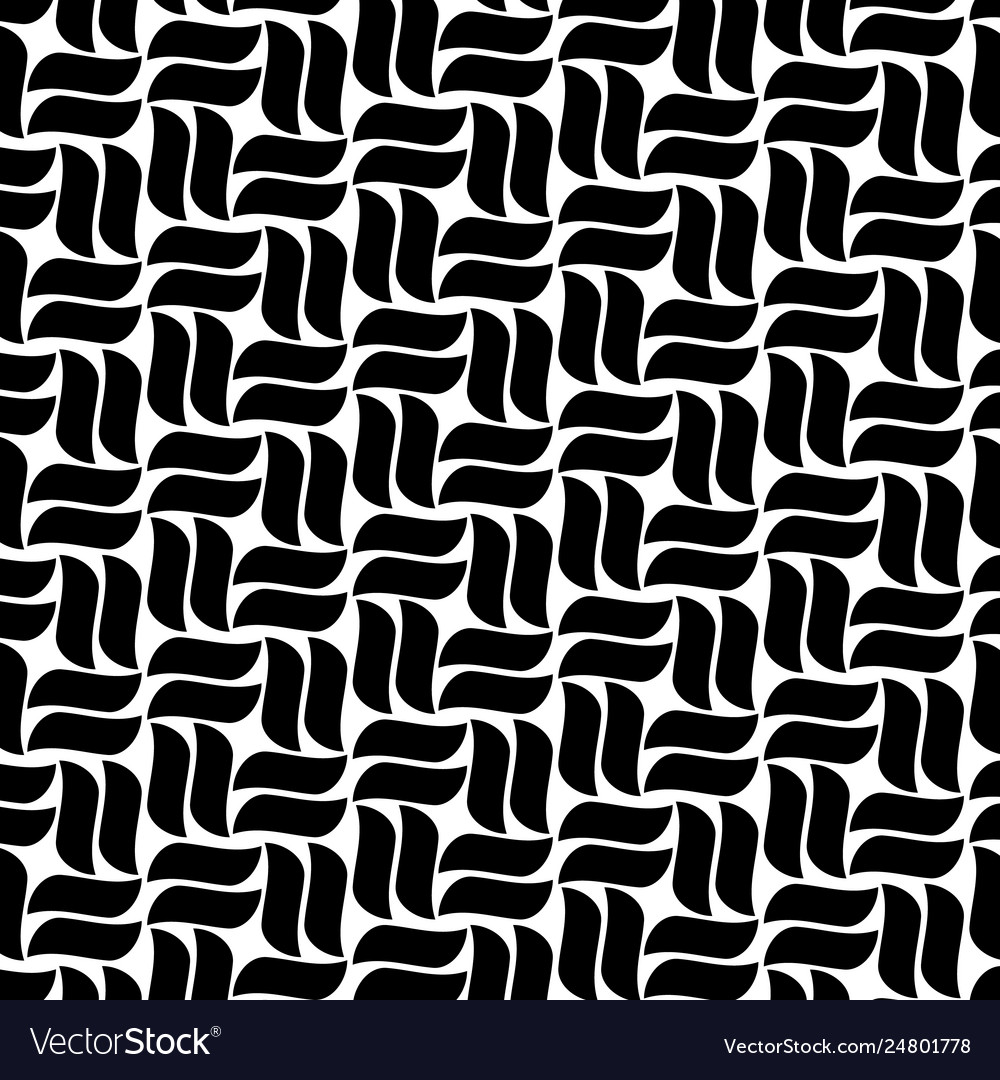 Abstract seamless pattern with curve lines