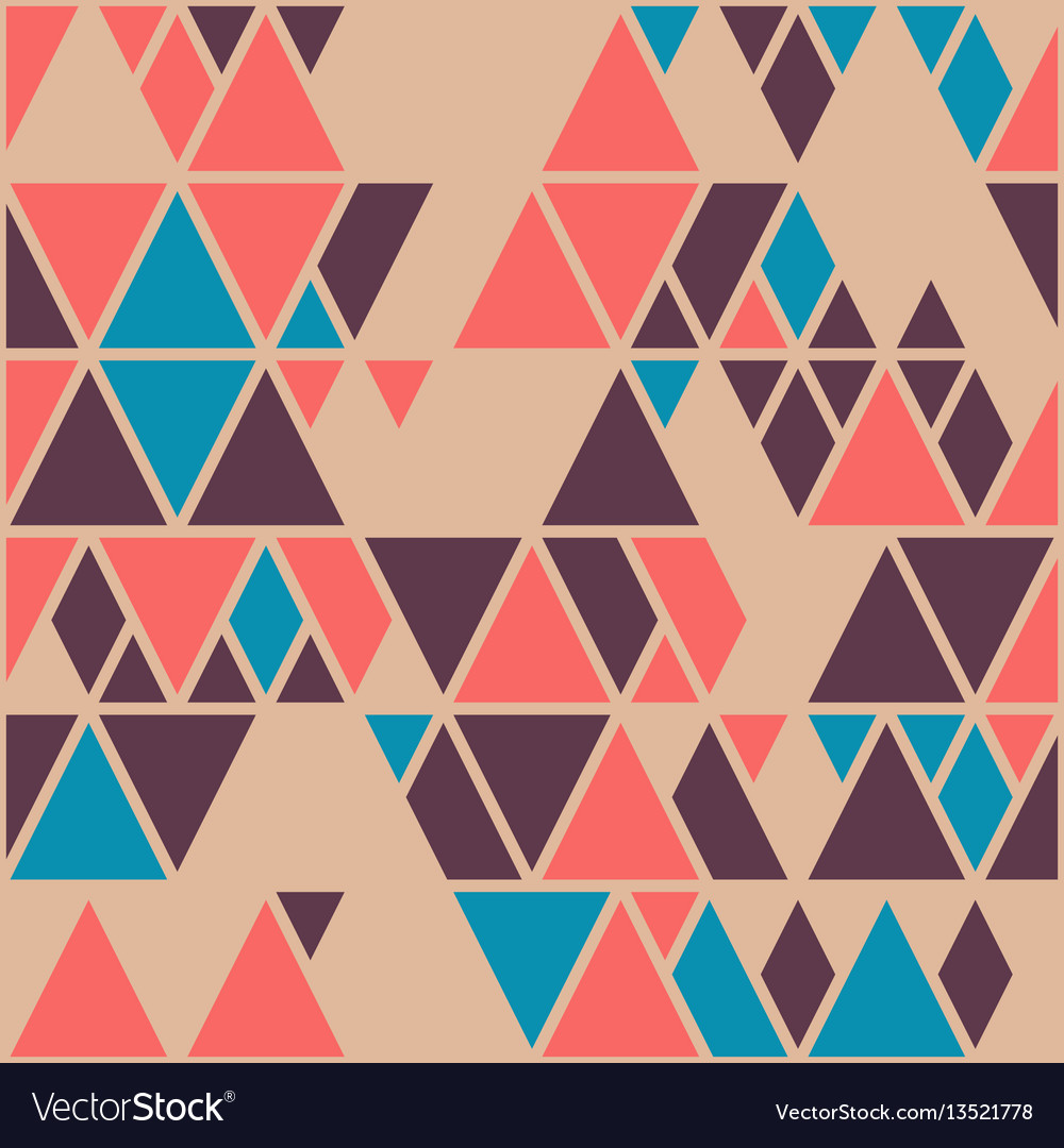 Simple geometric background with triangles