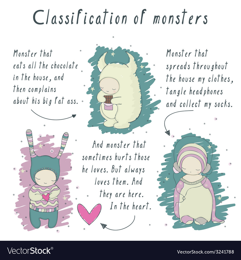 Comics about monsters