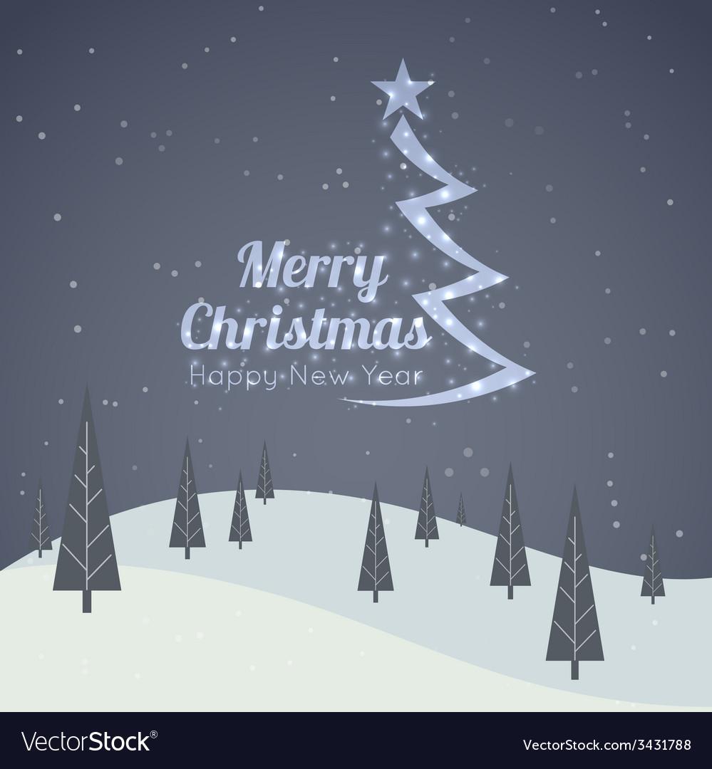 Merry Christmas Landscape